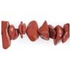"""Semi-Precious Chips 6X8mm 2X8"""" Strand Red Jasper"""